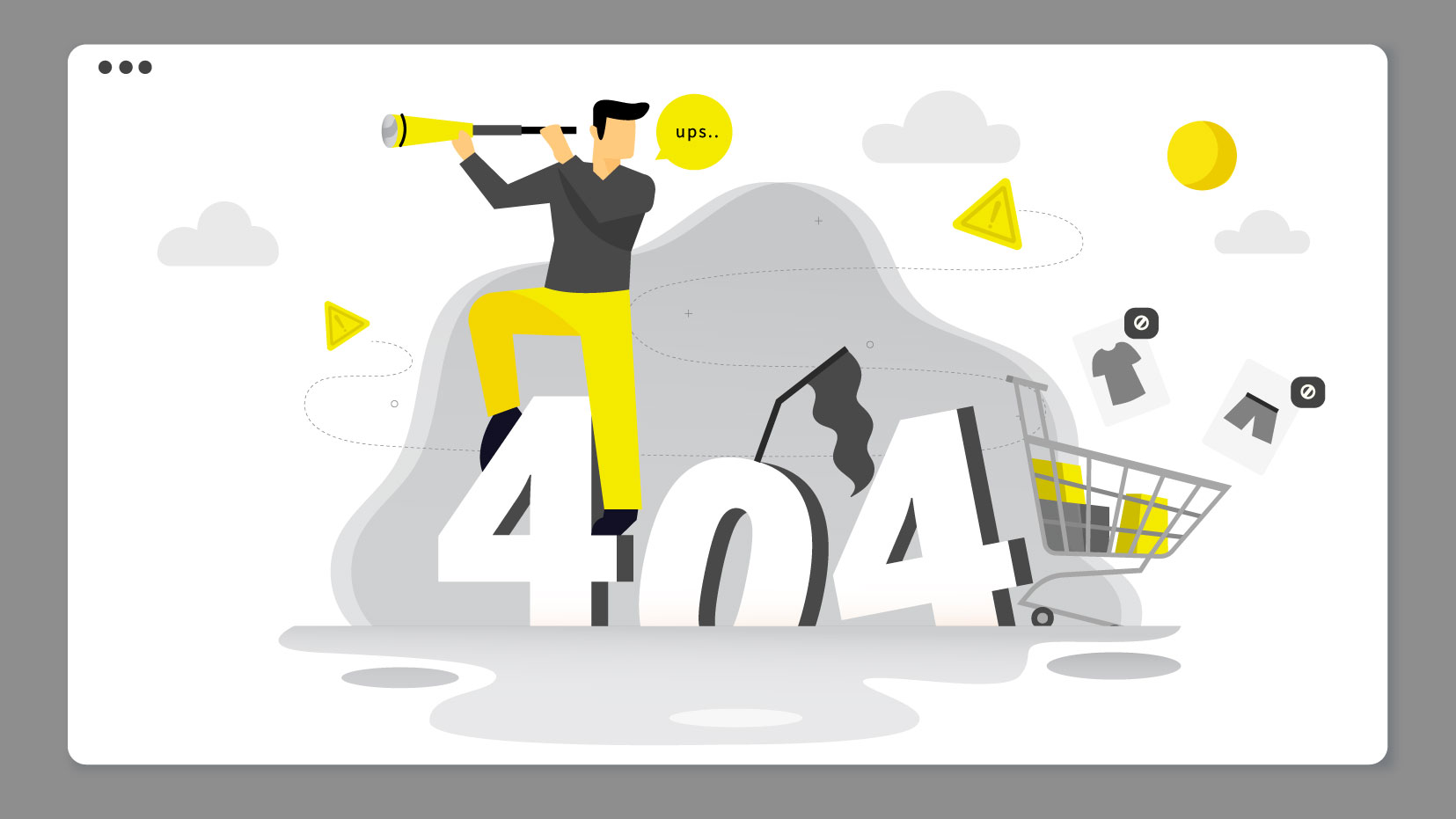 From Lost to Loyal: How to Make the Most of the 404 Error Page
