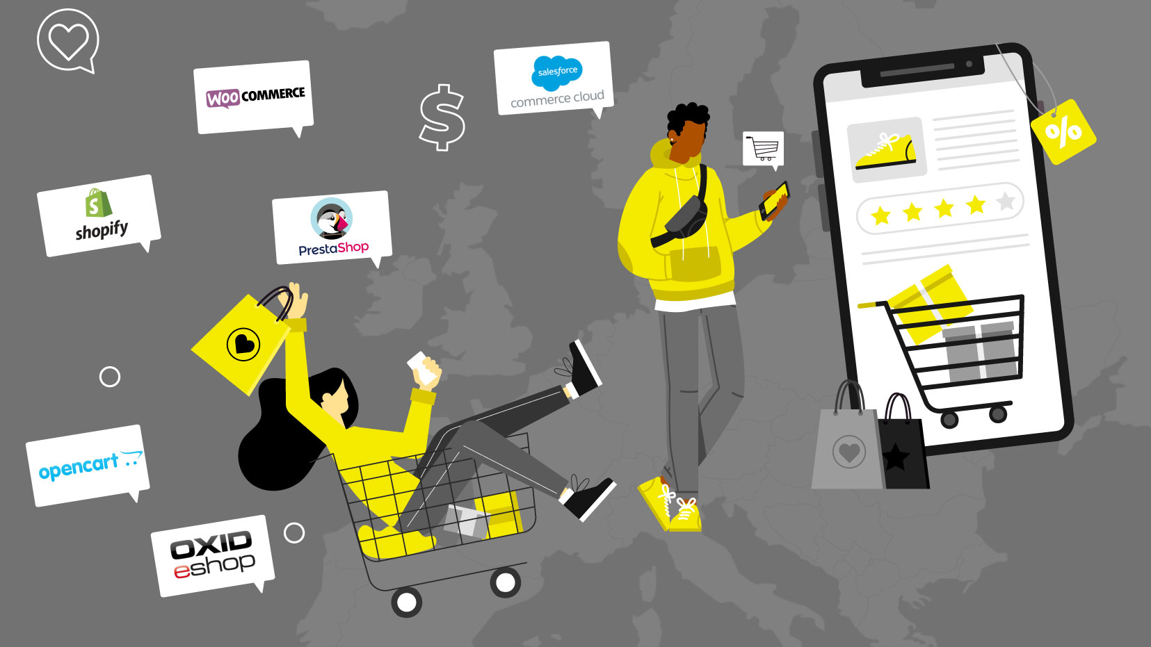 eCommerce on Tour: Online Sales in Europe and its Preferred Platforms