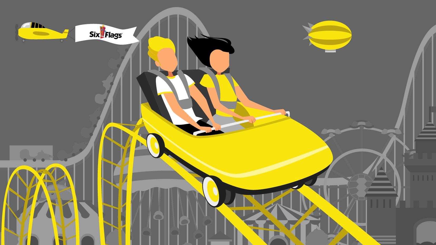 UV Launches Six Flags Great Adventure