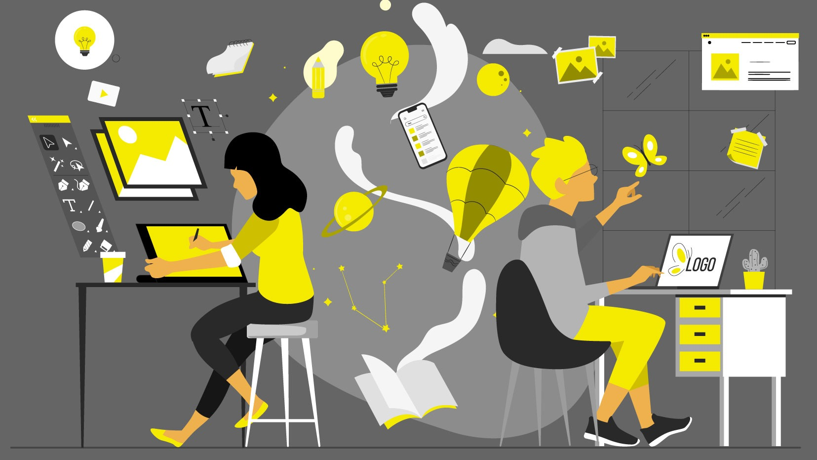 Understanding a Company Via Reading Their Job Ads: Marketing Team Seeks a Junior Designer; Creativity is Essential!
