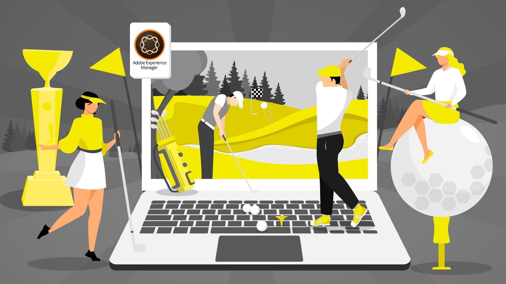PGA Tees Off With Adobe Experience Manager