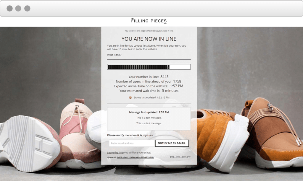 Please, Take a Seat: eCommerce Waiting Rooms