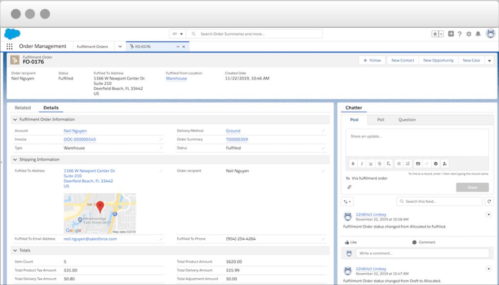 Navigating Salesforce Order Management