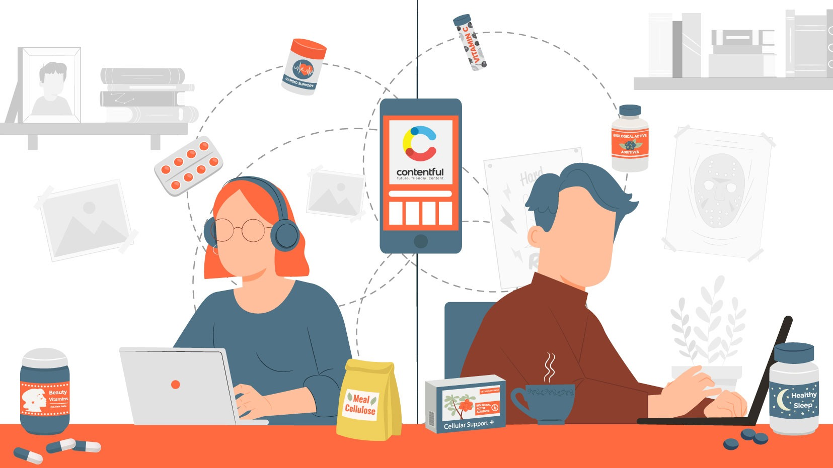 Healthcare, Fast: Hims & Hers Plugs In Contentful