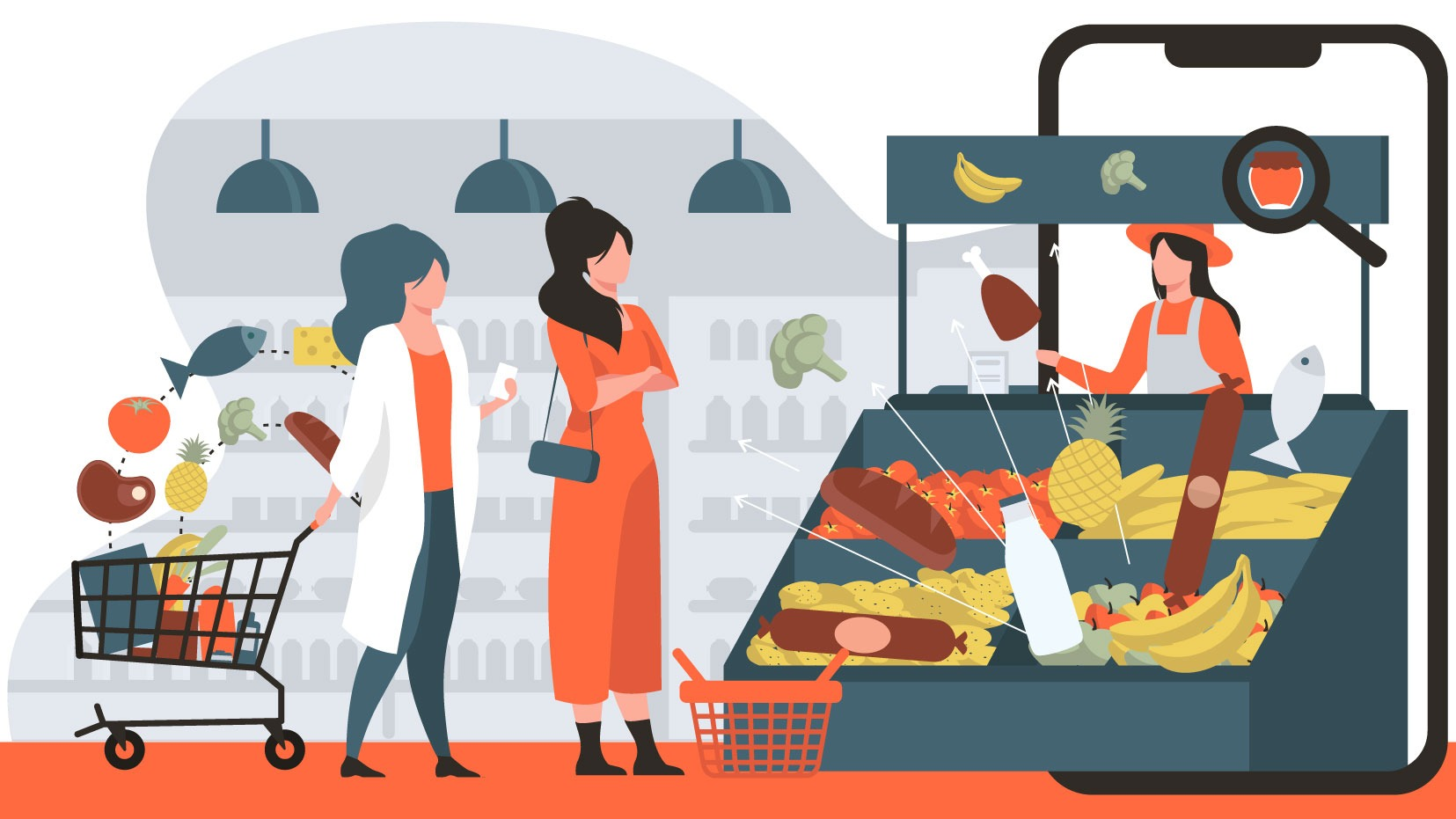 With eCommerce Grocery Sales Doubling, Here is How to Keep Control on your Site